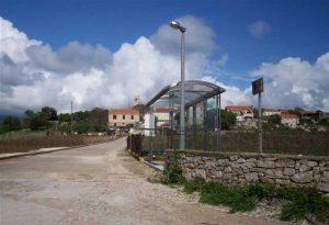 New bus shelters at Lumbarda Bus Stop