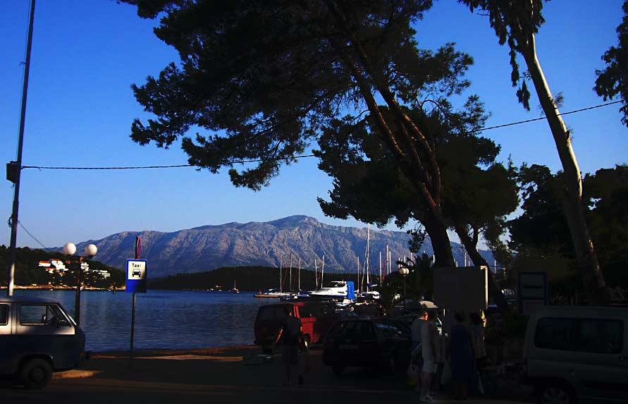 Views over Sveti Ilija from Lumbarda