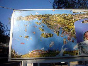 Visitors map of Lumbarda