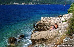 Stones @ Mandrač Beach in Korcula