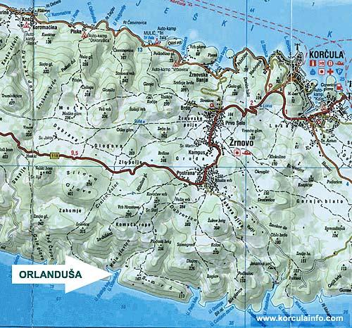 Map of Orandusa