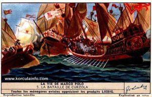 La Vie de Marco Polo - La Bataile de Curzola