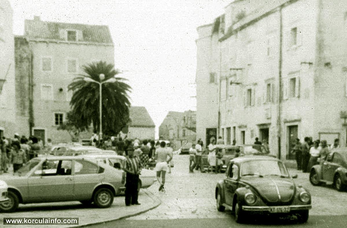 Traffic Jam @ Plokata (Korcula 1970s)