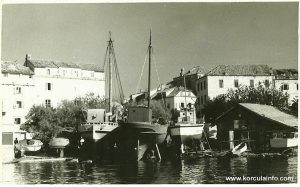 Plokata (1950s) - viewed from the sea