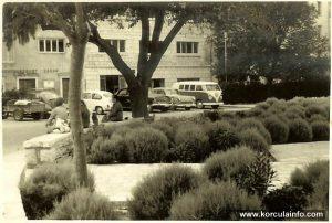 Parked cars @ Plokata, Korcula 1970s