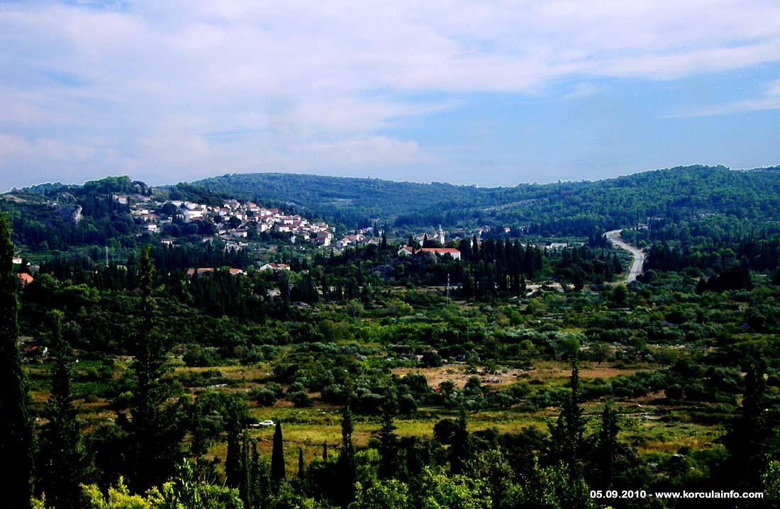 Postrana - Viewed from Brdo