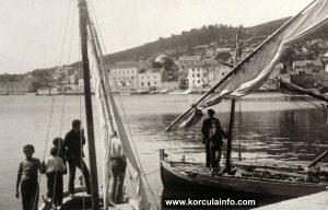 Boats @ Punta Jurana in 1920s