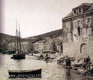 Punta Jurana in 1900s