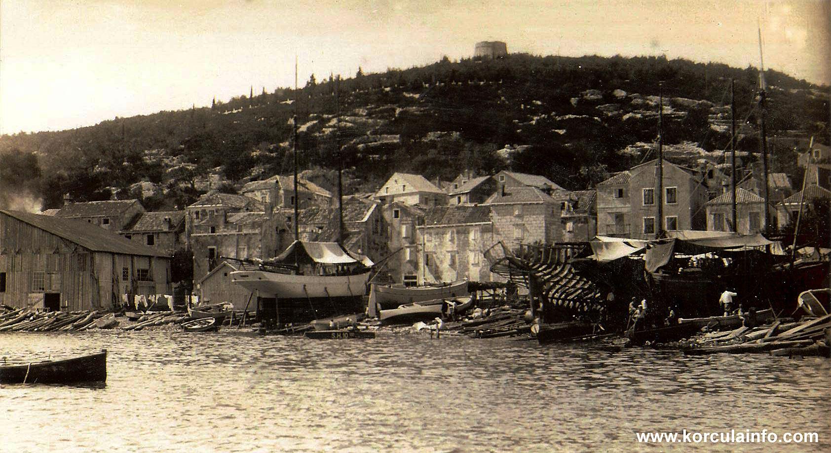 Punta Jurana in 1930s