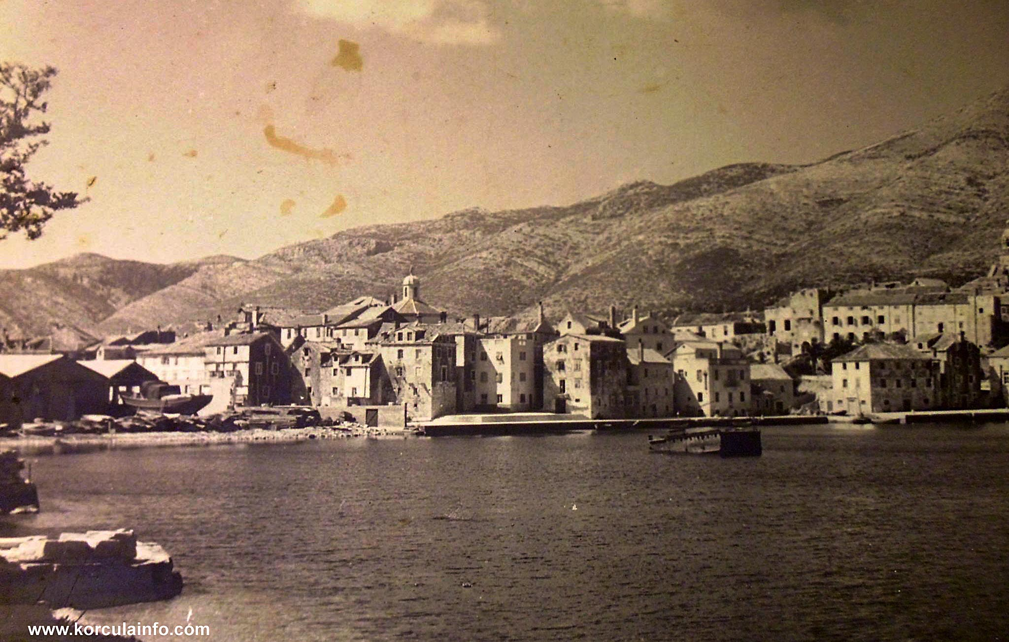Punta Jurana in 1950s