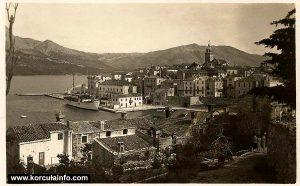 Riva in Korcula (1930s)