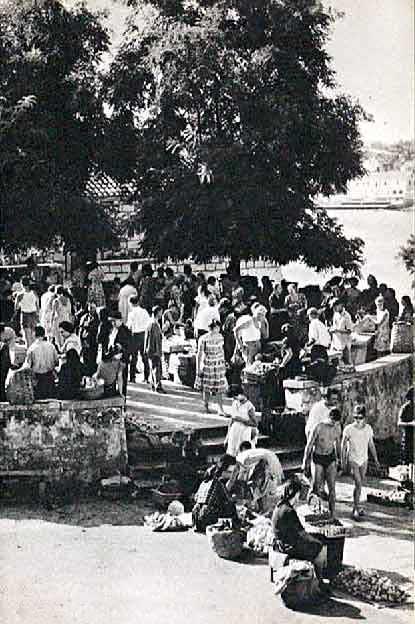 Rotonda, Korcula in 1950s