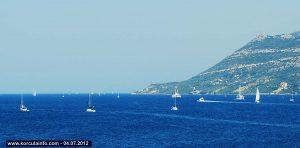 Sailing in Peljesac channel