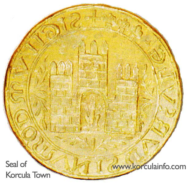 seal-korcula-town