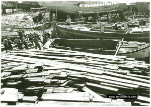 Shipbuilders in Korcula
