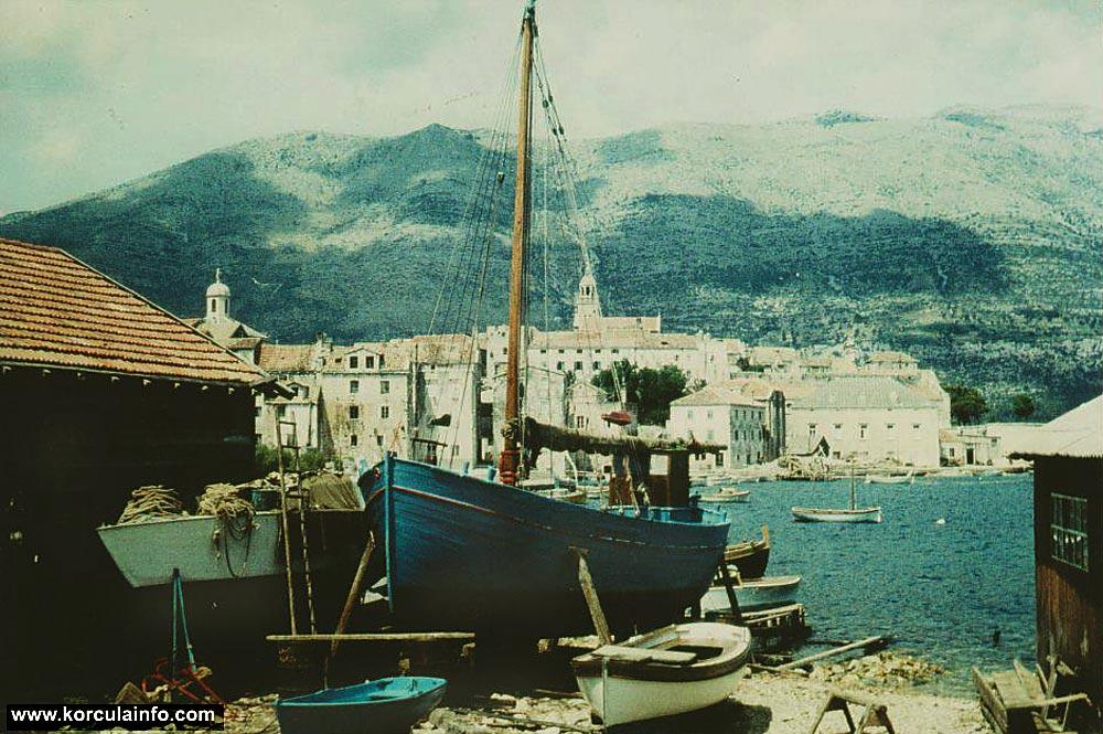 Shipyard in Borak - late 1960's