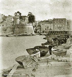 Shipyards in Sveti Nikola in 1900s