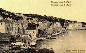 Shipyards in Sveti Nikola in 1920s
