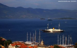 Skoji (Korcula Archipelago) - viewed from Forteca
