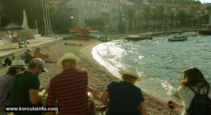 Afternoon Picknick @ Spomenik Beach in Korcula