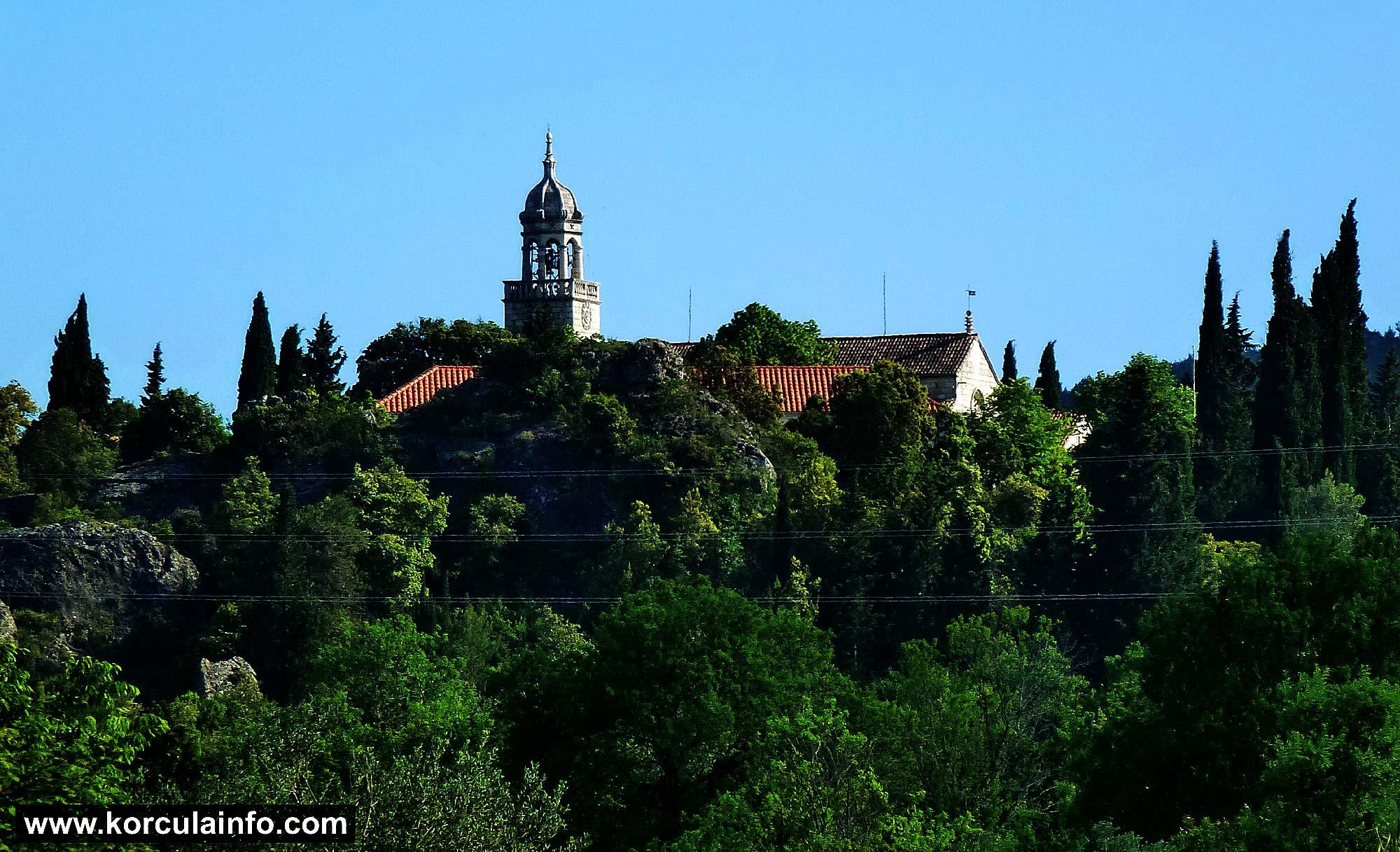 Bell Tower of Sveti Martin Church in Zrnovo
