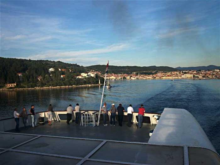 Vela Luka - Ferry Arrival