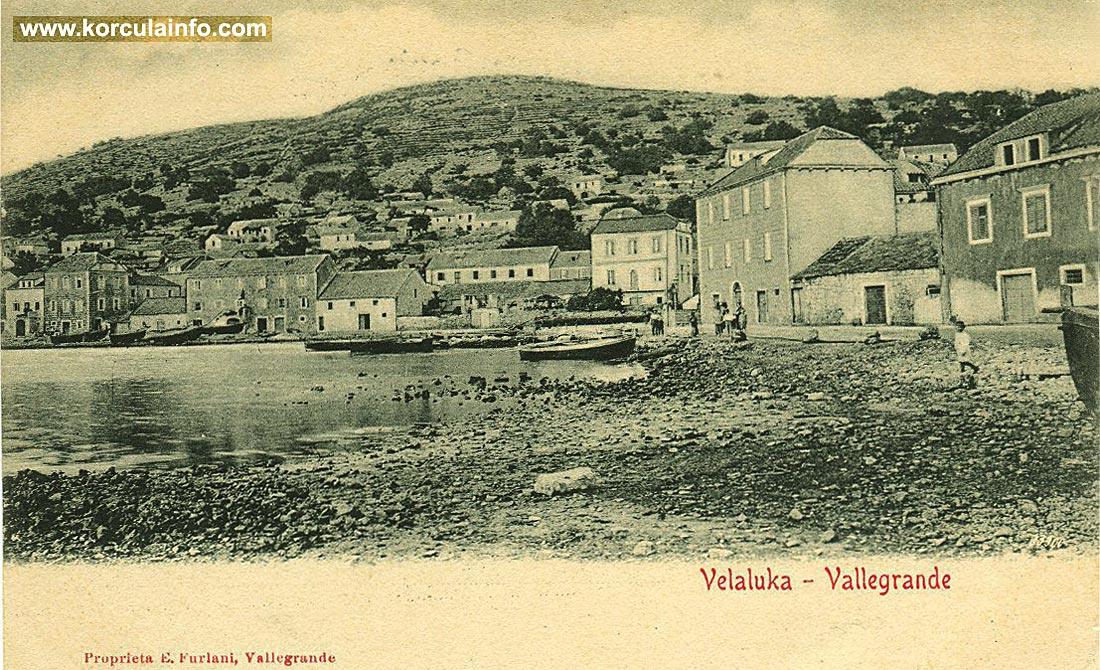 Vela Luka in 1910s