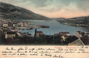 Vela Luka in 1902