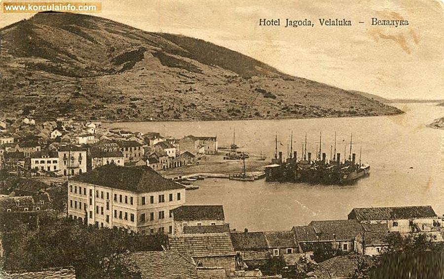 Vela Luka in 1923