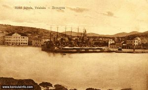 Vela Luka in 1924