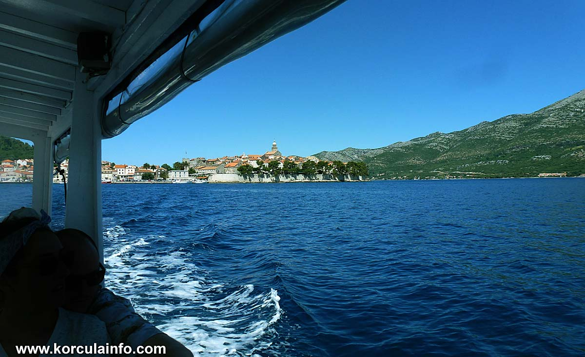 Taxi Boat (Water Taxi) Korcula