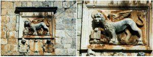 Winged Lion of Venice plaque