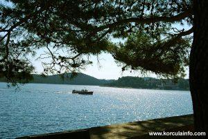Views from Zakerjan towards Badija