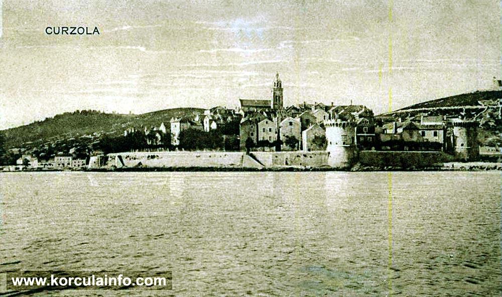 Views over Zakerjan, Korcula (1920s)