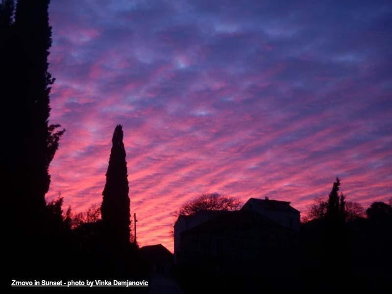 Sunset colours @ Zrnovo