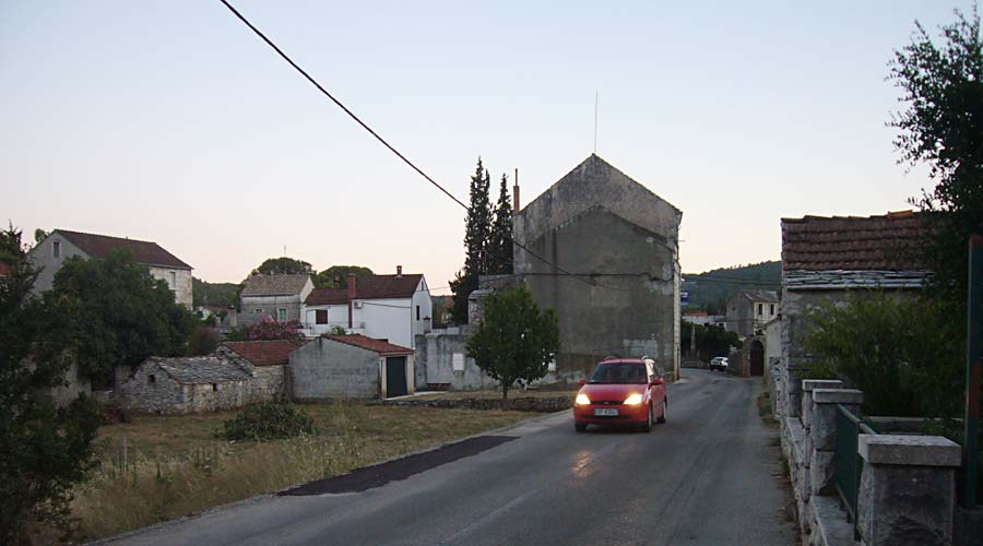 Dusk in Prvo Selo
