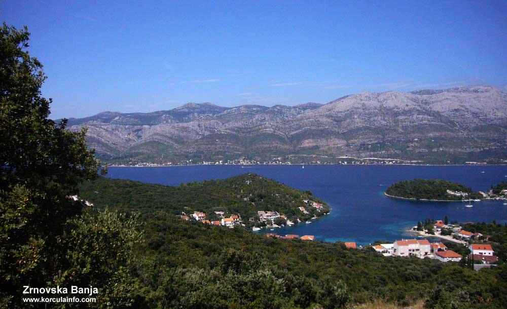 Views over Zrnovska Banja