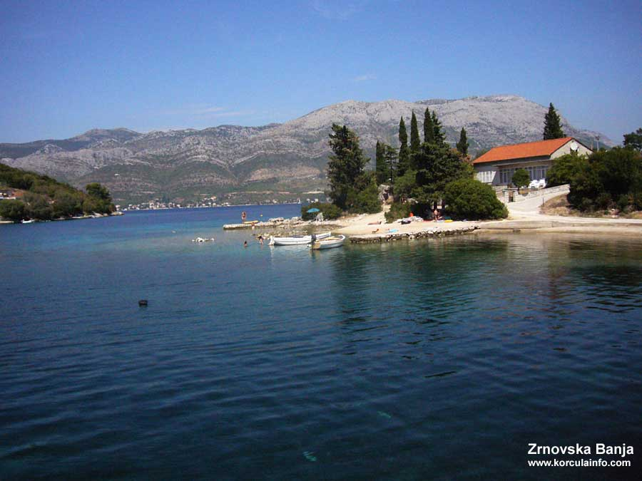 Swimming in Zrnovska Banja