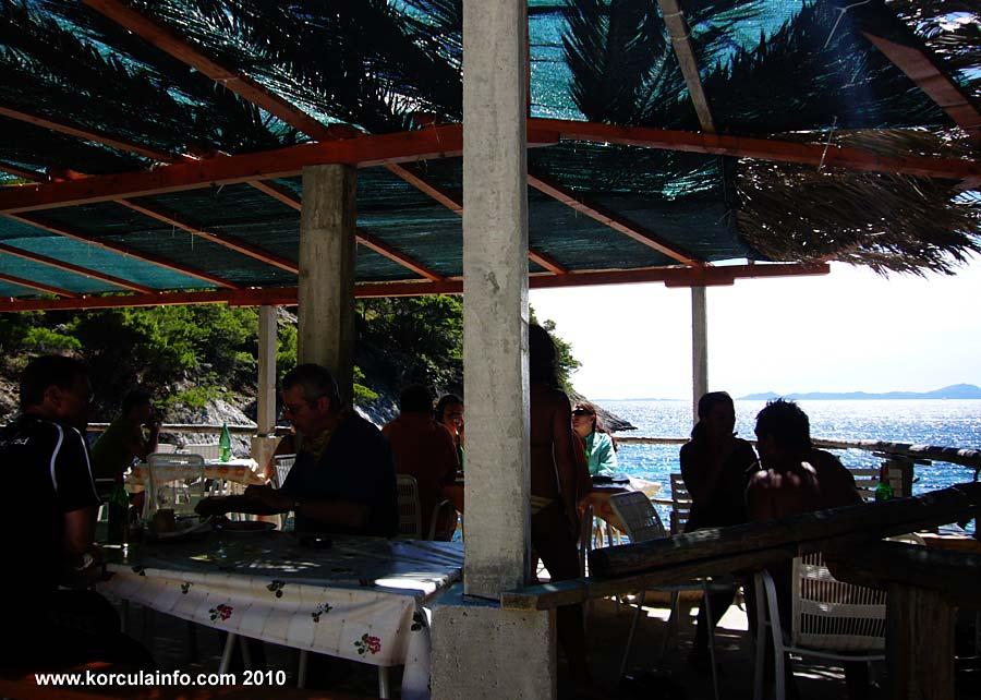 Terrace of the Restaurant at Bacva Beach