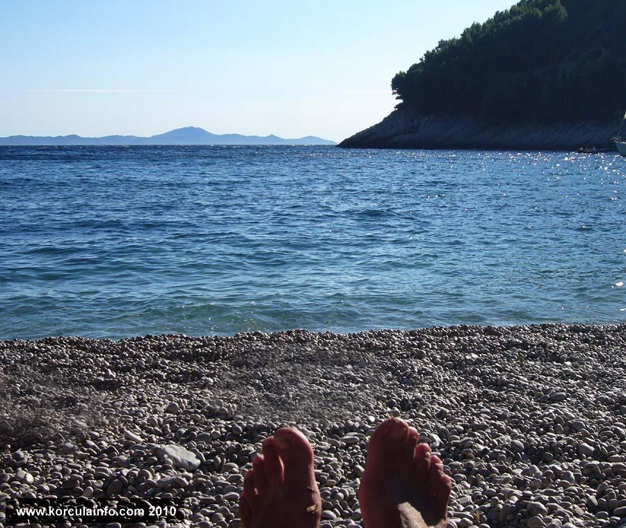 Enjoying Sunny afternoon on Bacva Beach