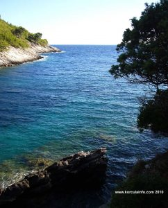 Views over the bay - Bacva, Korcula island