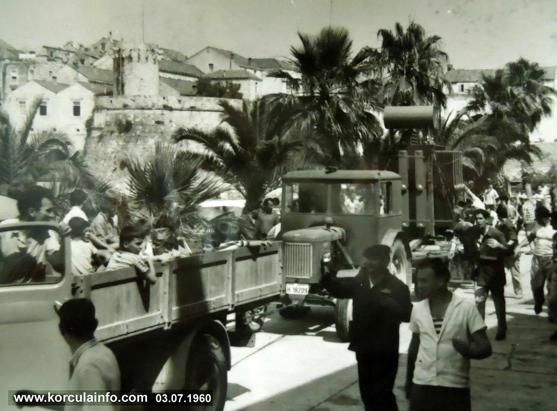Electrification - Korcula 1960s
