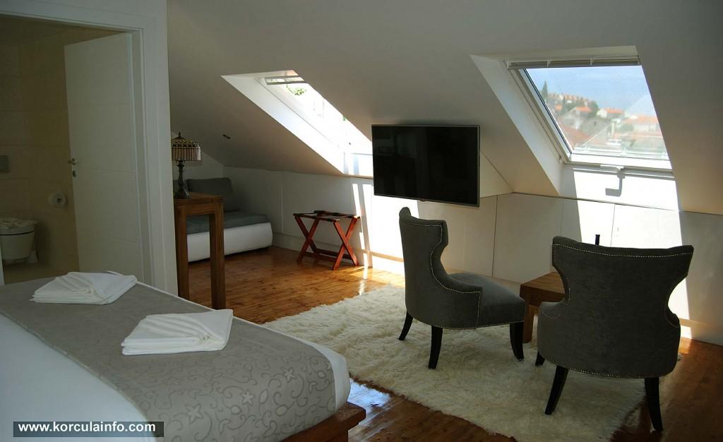 Living room at Loft Apartment, Hotel Fabris