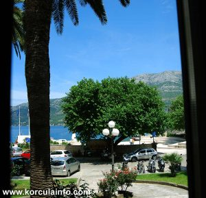 Sea Views from Hotel Fabris - Korcula