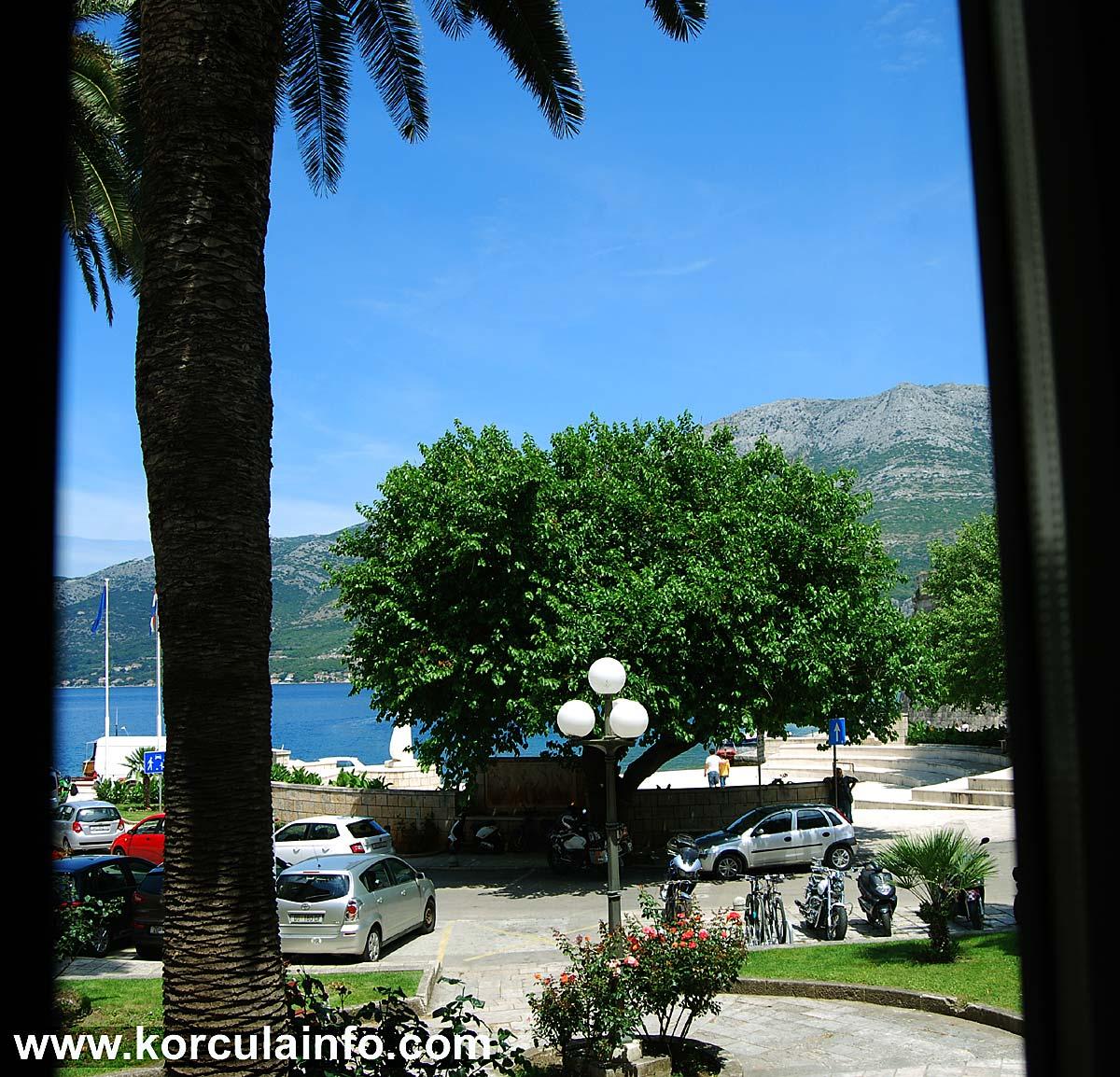 Sea Views from Hotel Fabris - Korcula