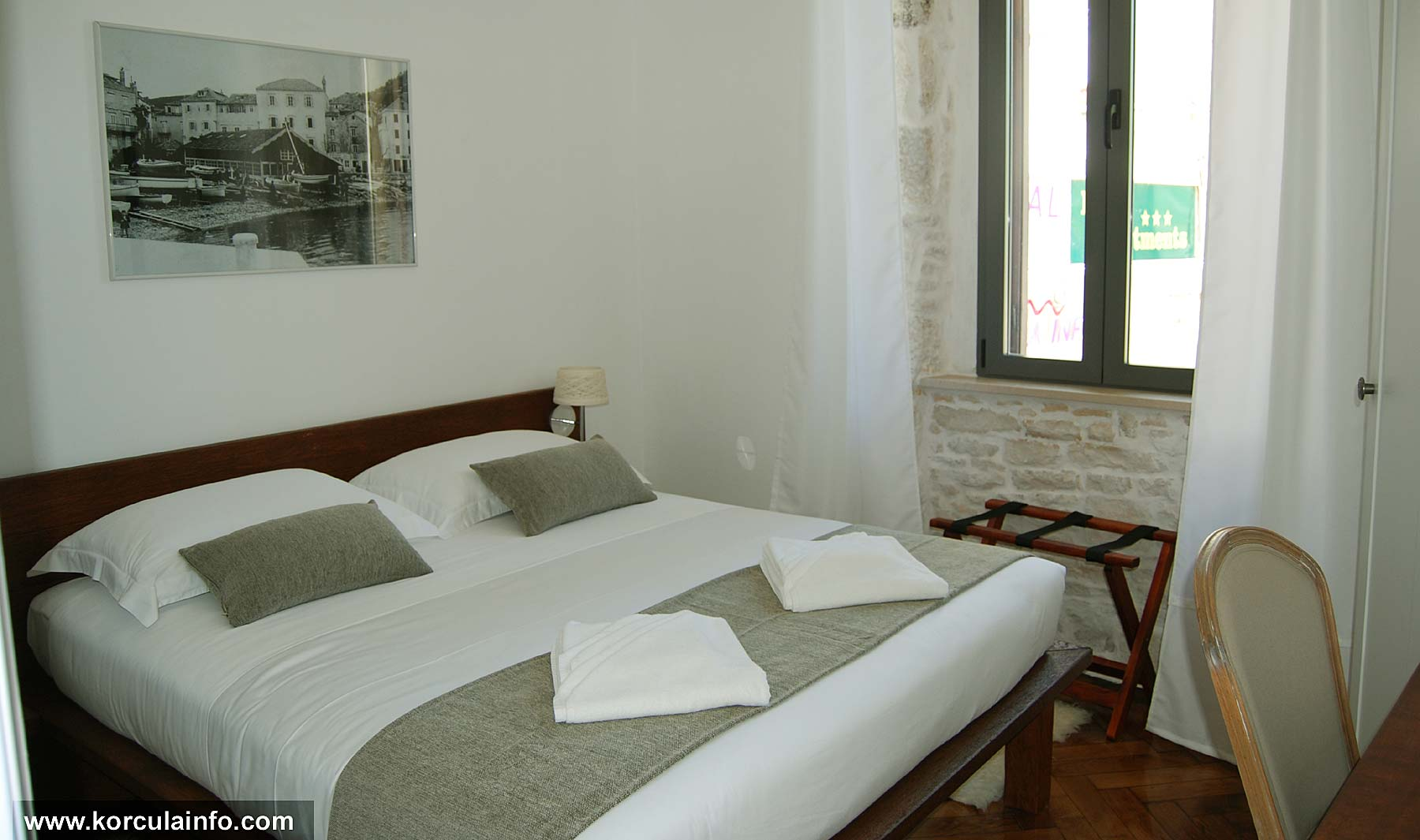 First Floor room with sea views - Hotel Fabris, Korcula