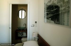 En suite bathroom -Double Room - Hotel Fabris, Korcula