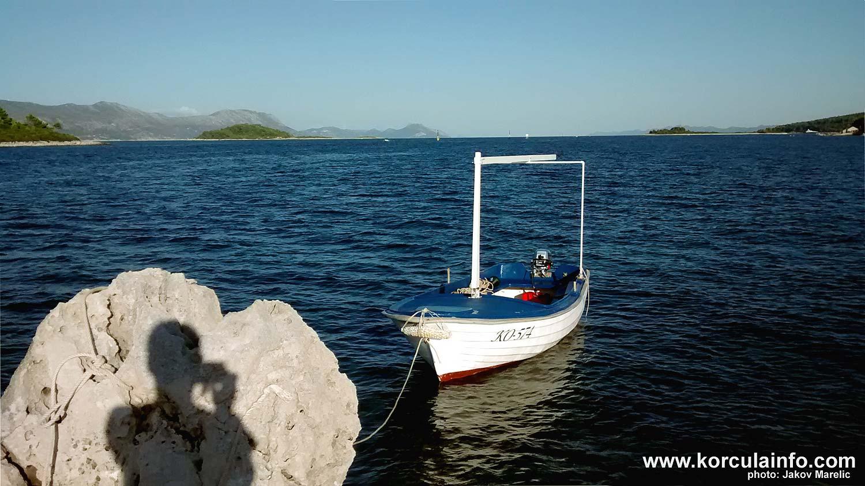 Views from Kamenjak island - Korcula Archipelago