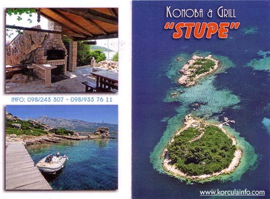 Restaurant Konoba Grill Stupe Korculainfo Com