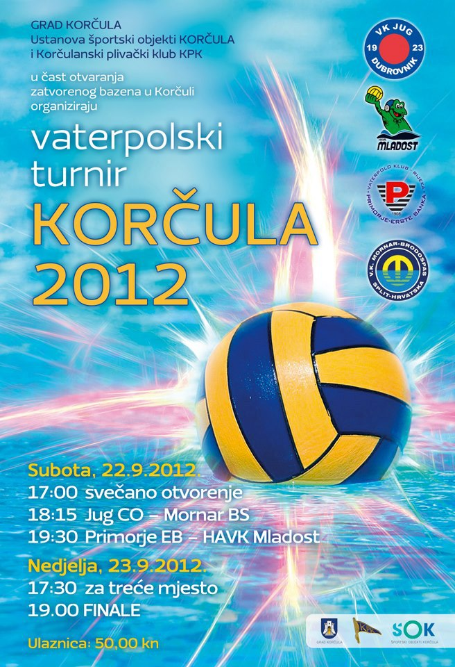 Korcula 2012 - Water Polo Tournament